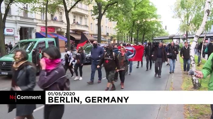 News video: Berlin: 5. Woche der Proteste gegen Corona-Regeln