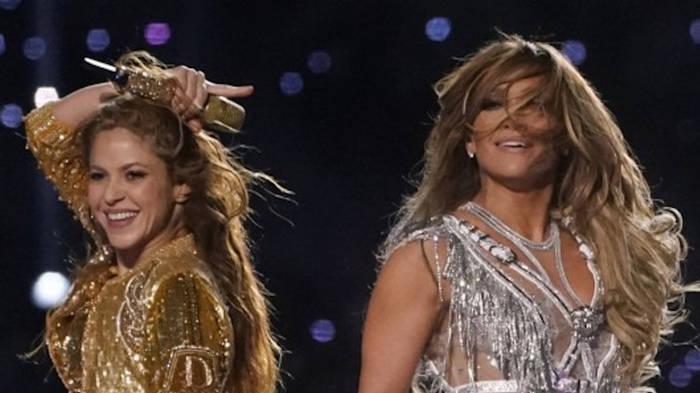 News video: Super-Bowl-Video: Jennifer Lopez gibt Shakira heiße Tanz-Tipps