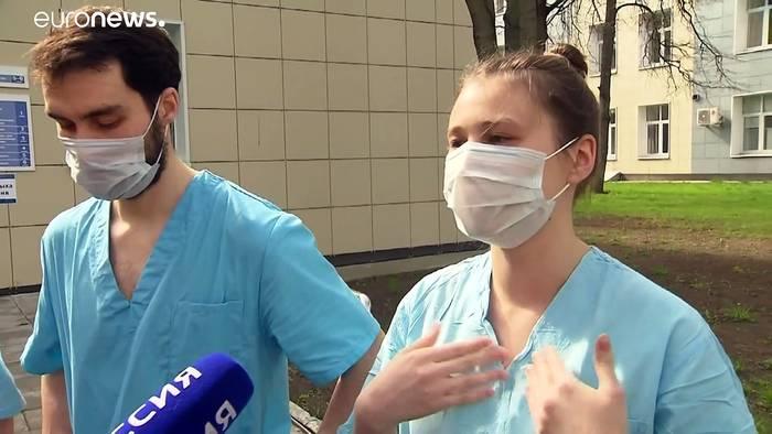 Video: Studentische Hilfskräfte: Unterstützung für medizinisches Personal