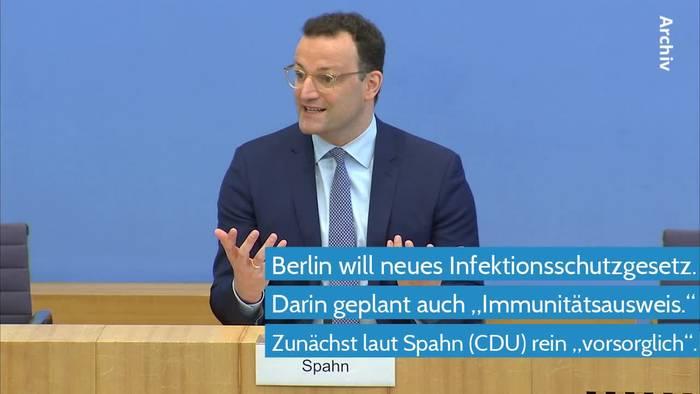 Video: Coronavirus - Reform des Infektionsschutzgesetzes umstritten