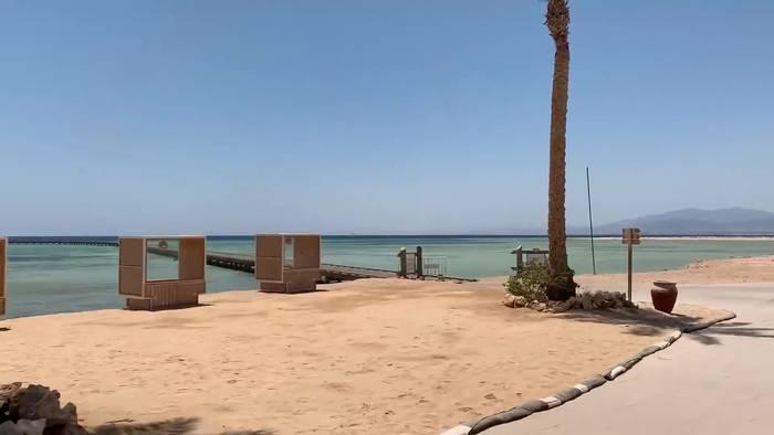 News video: Was ist los im ägyptischen Somabay im Corona-Lockdown?