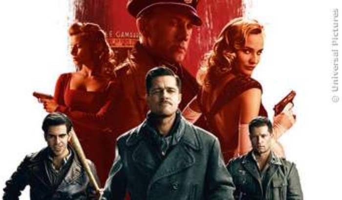 News video: Inglourious Basterds Trailer Deutsch German (2009)