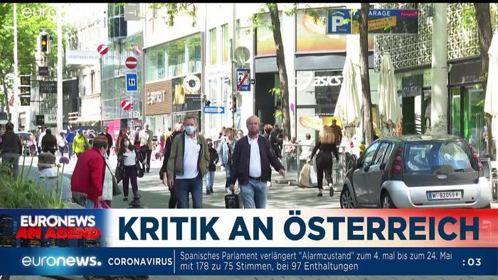 Video: Lockerungen, Sorgen und Armut - Euronews am Abend am 06.05.