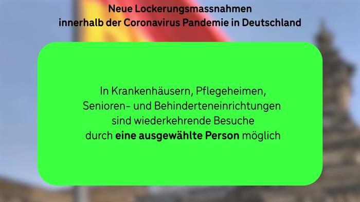 Video: Coronavirus: Die neuen Maßnahmen-Lockerungen in Deutschland