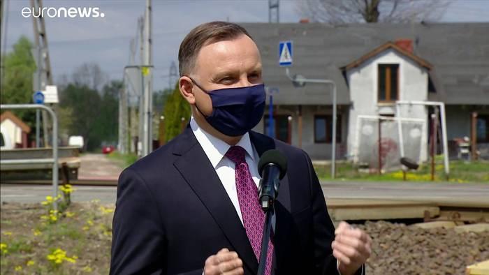 Video: Am 12. Juli: Regierungskoalition in Polen will Wahl per Post