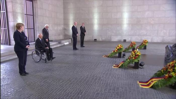 News video: Steinmeier: Kampf für Demokratie und Einheit Europas