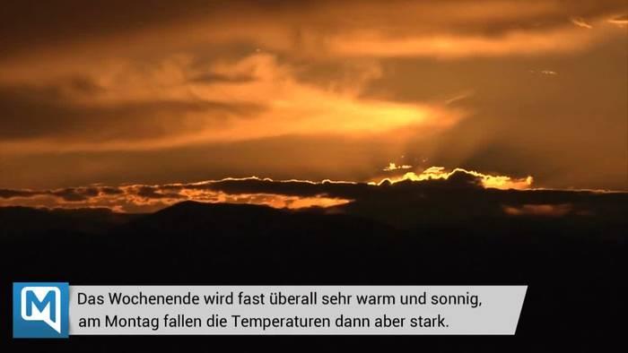 Video: Das Deutschlandwetter - Die Eisheiligen kommen