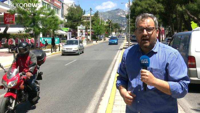 Video: Griechischer Einzelhandel öffnet wieder - vorsichtig optimistisch