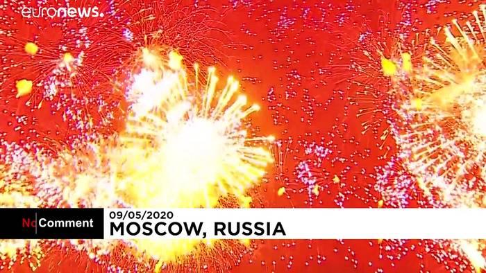 News video: Moskau: Feuerwerk zum