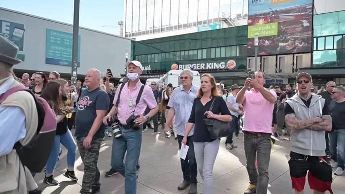 Video: Deutschland: Tausende bei Demos gegen Corona-Regeln