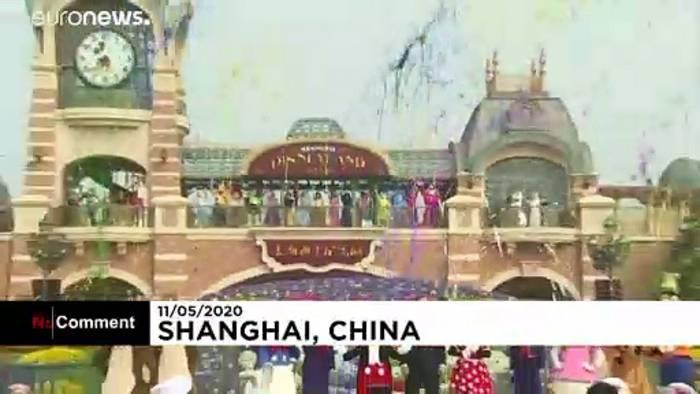 Video: Disney-Park in Shanghai öffnet
