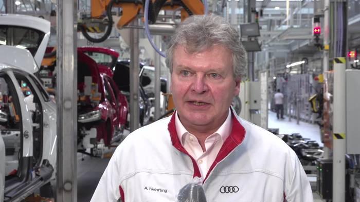 News video: Audi Wiederanlauf Produktion Ingolstadt - Achim Heinfling