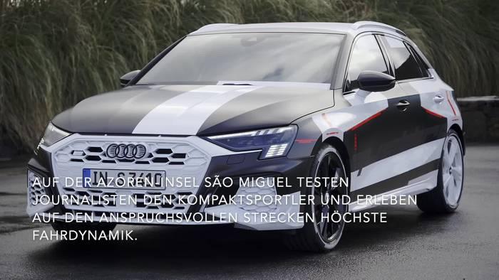 Video: Tanz auf dem Vulkan - Neuer Audi A3 fahrdynamischer denn je