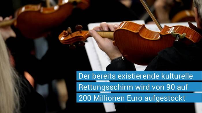 News video: Coronavirus: Bayerische Staatsregierung kündigt umfangreiche Hilfsmaßnahmen für Kulturschaffende an