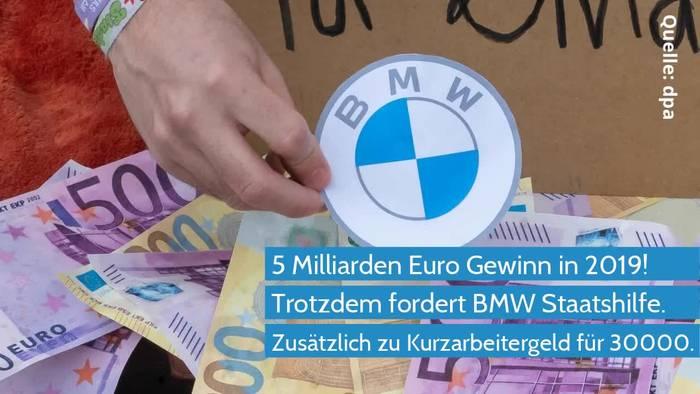 News video: Coronavirus - BMW zahlt Milliarden Dividende trotz Staatshilfe
