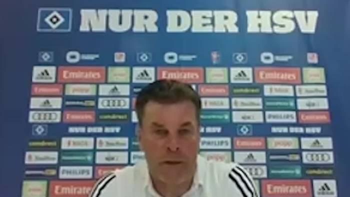 Video: Hamburgs Zweitligisten vor dem Re-Start: Das sagen Dieter Hecking und Jos Luhukay vor dem Start und zum