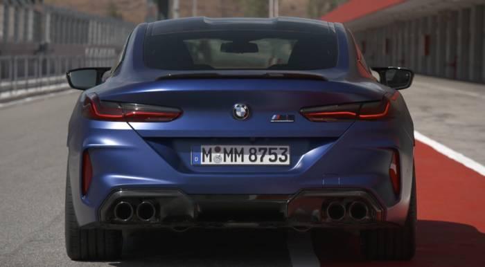 News video: Das neue BMW M8 Coupé Exterieur Design