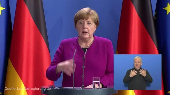 News video: Widerstand gegen Wiederaufbau-Plan von Merkel und Macron