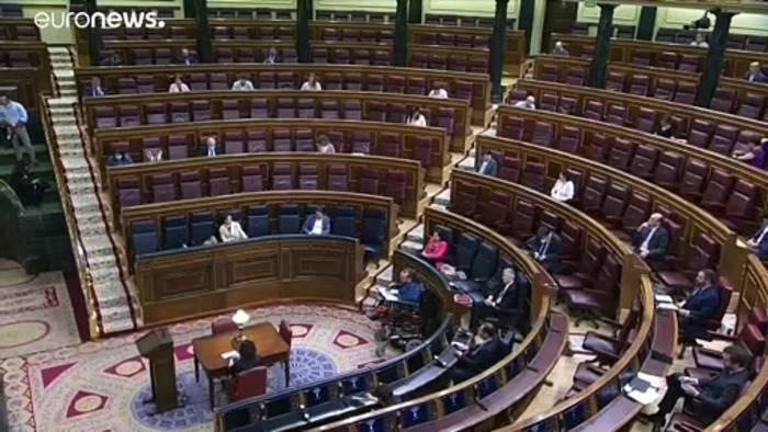 News video: Spaniens Ministerpräsident Sánchez beantragt Verlängerung des Notstands