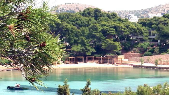 News video: Griechenland bereitet sich auf Neustart des Tourismus vor