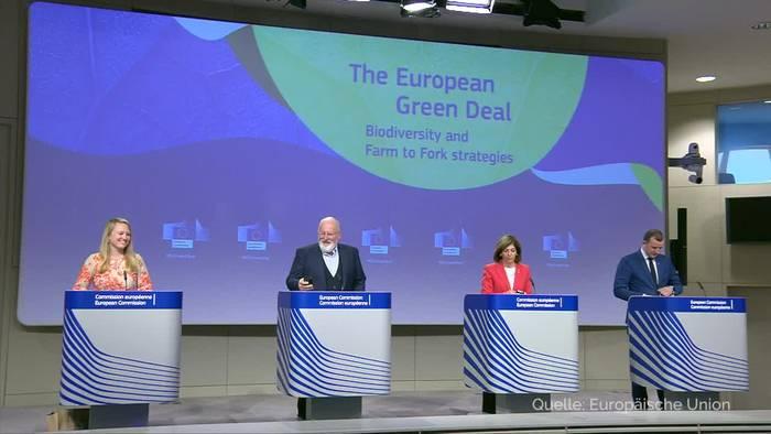 News video: EU-Kommission will Einsatz von Pestiziden halbieren