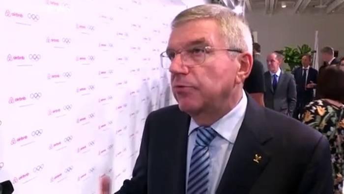 Video: IOC-Chef Bach: Verständnis, falls Spiele in Tokio 2021 abgesagt werden müssen