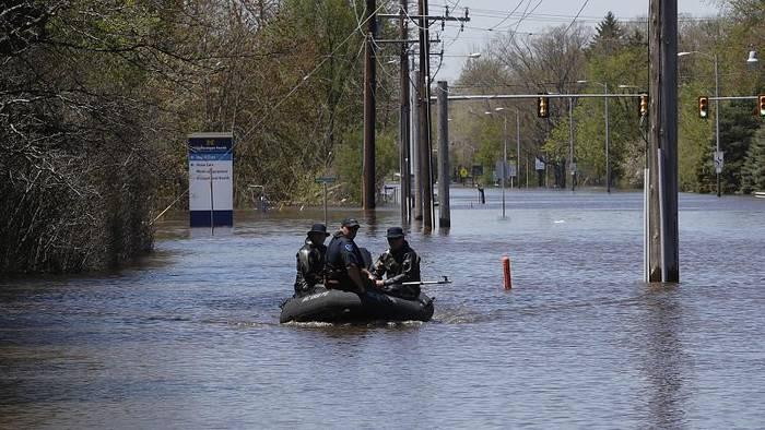 News video: Michigan: 10.000 Menschen wegen Hochwasser und Dammbrüchen evakuiert
