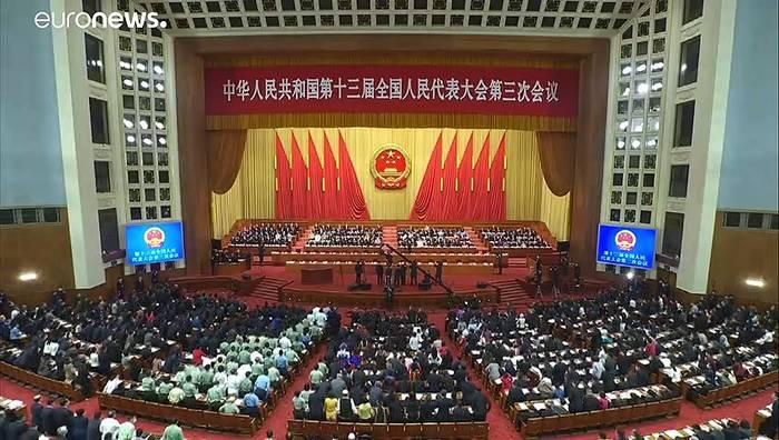 News video: Volkskongress in Peking: Chinas Führung will Milliardenhilfen