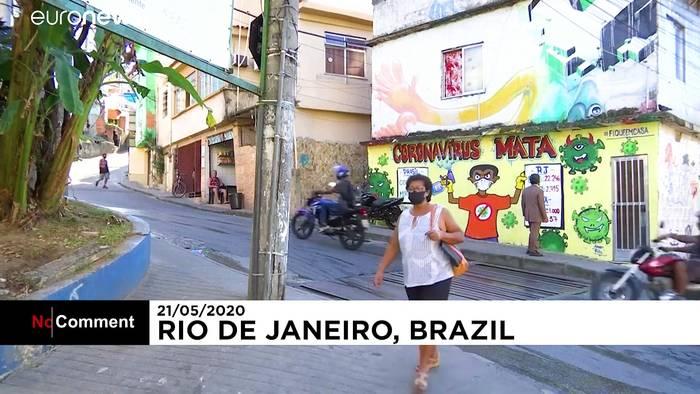 News video: Graffiti im Kampf gegen Corona