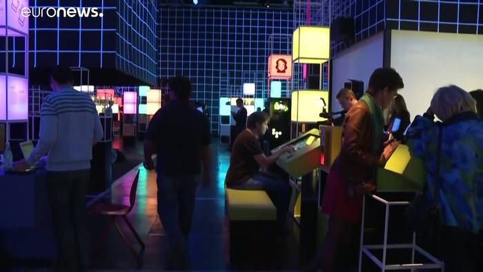 News video: Computerspiel Pac-Man feiert 40. Geburtstag