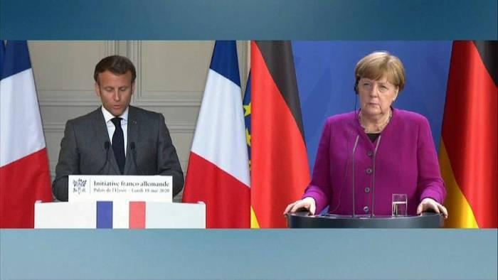 News video: Merkel-Macron-Plan ist alles oder nichts
