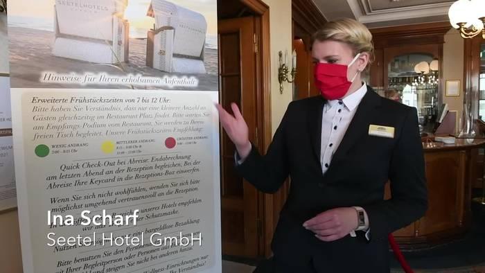 News video: Ahlbeck: Nach Testlauf erwarten Hotels den Pfingstansturm