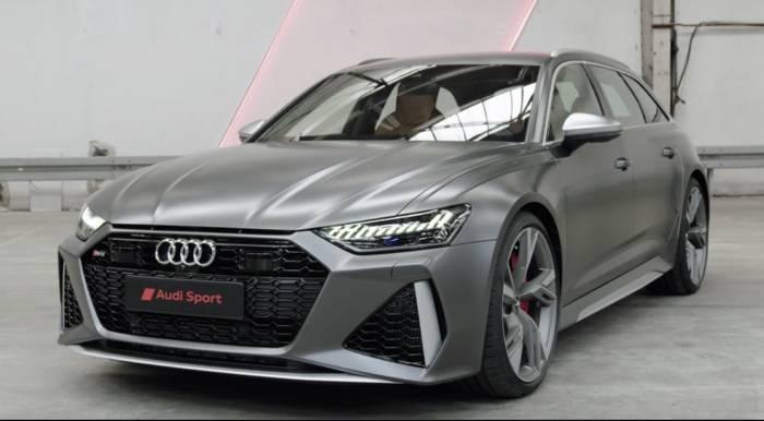 News video: Der neue Audi RS 6 Avant - Breit und Kraftvoll - das Exterieurdesign