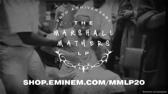 News video: 20 Jahre: Eminem lädt Fans zu Listening Party ein