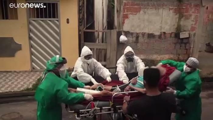 News video: Corona-Hotspot-Amazonas: Zweifel am Virus