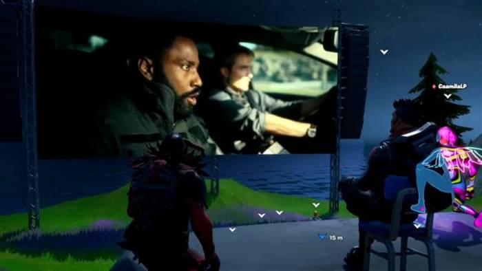 Video: Fortnite-Spieler exklusiv bei der Trailer-Premiere von 'Tenet'