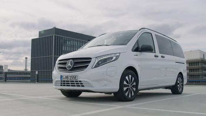 News video: Der neue Mercedes-Benz eVito Tourer - Das Design