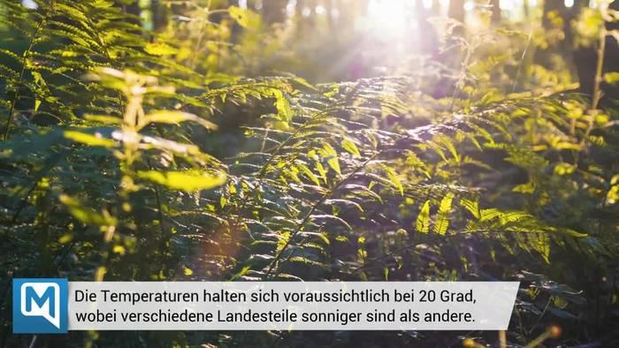 News video: Das Deutschlandwetter - Wochenende & Pfingsten