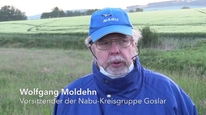News video: Rehkitz-Rettung mit Drohne und Wäschekorb