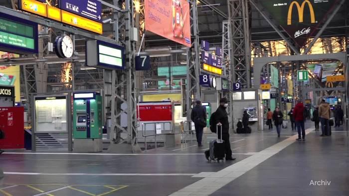 News video: So stellt sich die Bahn auf Pfingsten ein