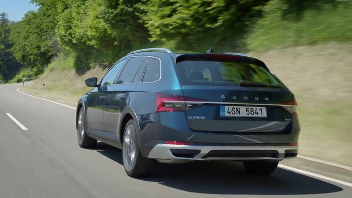 Video: ŠKODA SUPERB Scout - Multifunktionaler Lifestyle-Kombi für jedes Terrain
