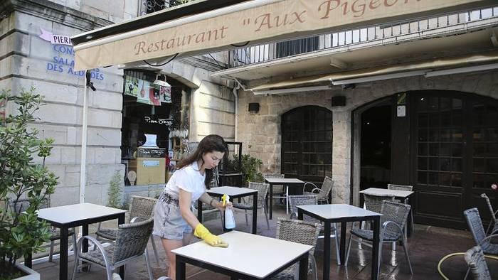 News video: Französische Restaurants und Cafés dürfen am 2. Juni wieder öffnen
