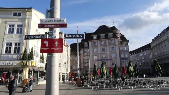 Video: Anklage nach tödlichem Schlag auf Augsburger Königsplatz