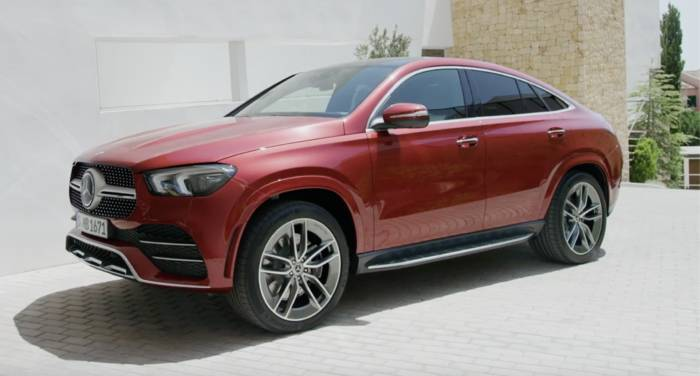 News video: Der neue Mercedes-Benz GLS - Das Exterieur-Design - kraftvoller Auftritt