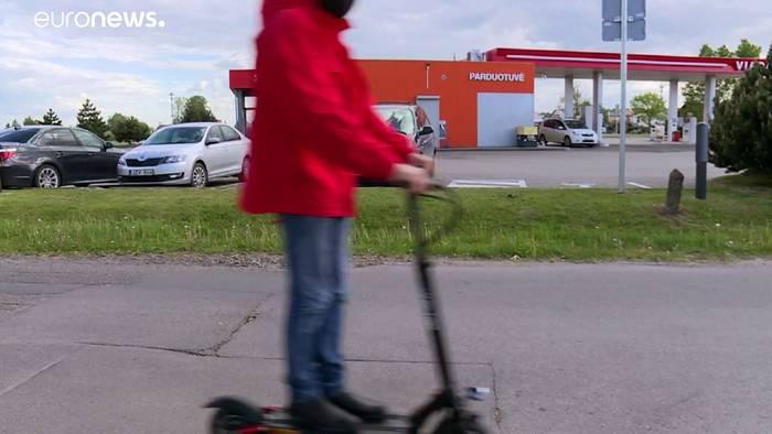 News video: Litauen setzt auf alternative Mobilität - Prämie für Fahrräder und Roller