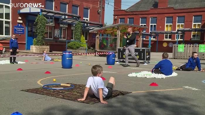 News video: England: Viele Grundschulen öffnen wieder