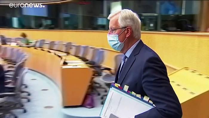 Video: Barniers Kritik vor entscheidenden Post-Brexit-Verhandlungen