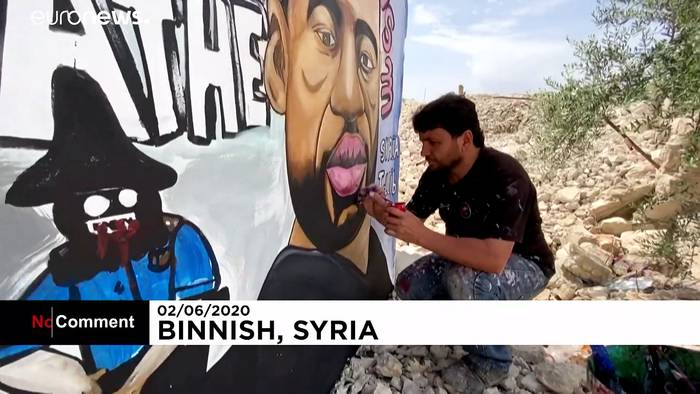 News video: Auch in Idlib: Solidarität mit George Floyd