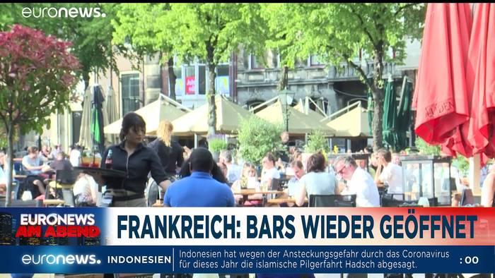News video: Wer steht noch hinter Trump? Euronews am Abend vom 02.06.