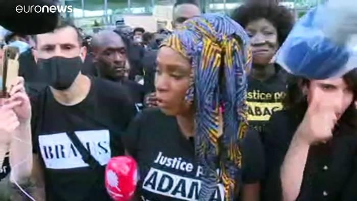 News video: Ausschreitungen und Festnahmen bei Black-Lives-Matter-Protesten